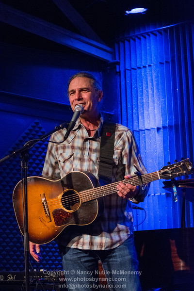 Chuck Cannon opened for Shawn Mullins