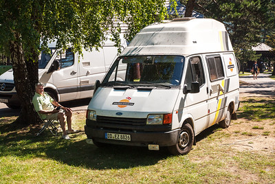 Our camper from Dresden in 2010.