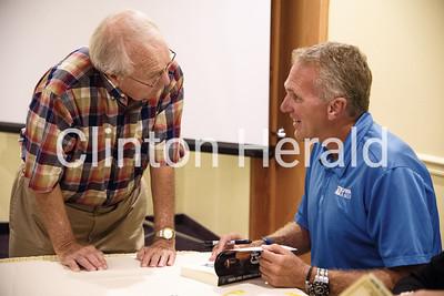 Chuck Long at Clinton Rotary 7-16-18