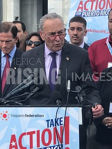 Chuck Schumer At Take Action Event in Washington, DC