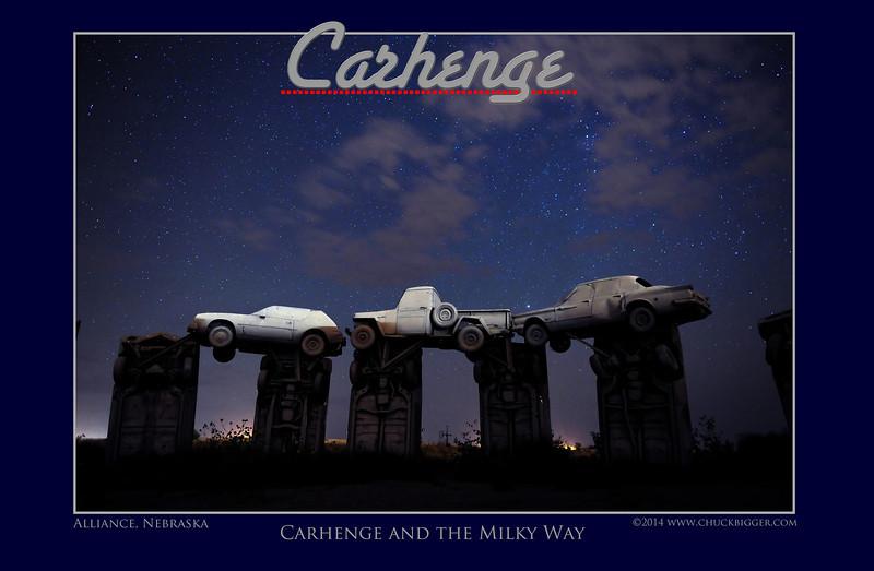 Carhenge Poster