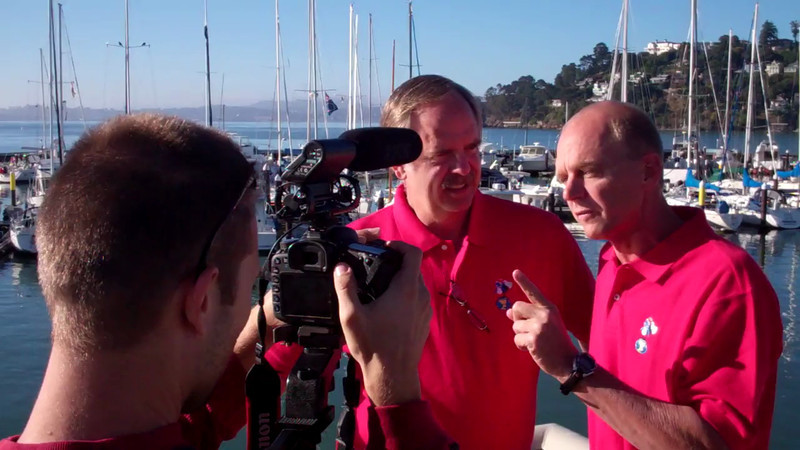 John Neighbor & Rowdy Gaines discuss the possible outcomes of the RCP Tiburon Mile