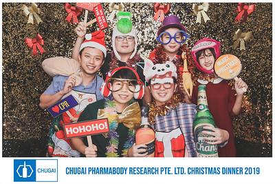 Chugai Pharmabody Research Ptd Ltd's Christmas Dinner | © www.SRSLYPhotobooth.sg
