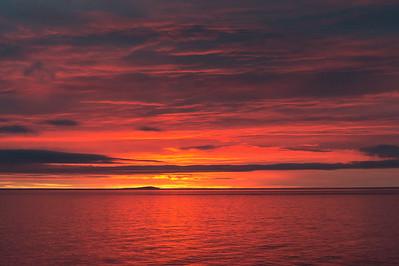 Chukchi Sea near Belyaka Spit, Kolyuchin Inlet.