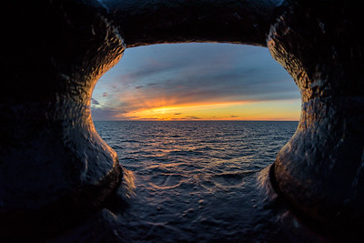 Sunset over the Chukchi Sea