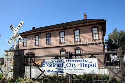 922 West 23rd Street, National City, CA - 1888 National City Railway Station - Italianate Style