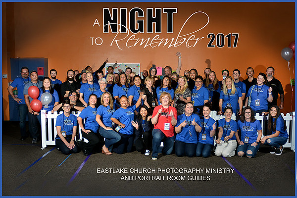 A Night to Remember Volunteers 2017