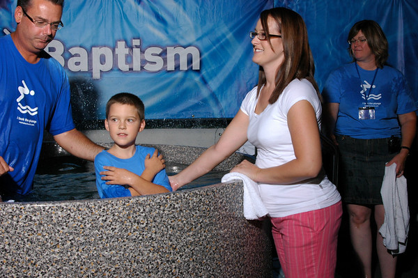 Eastlake Church Baptism Saturday August 29, 2009