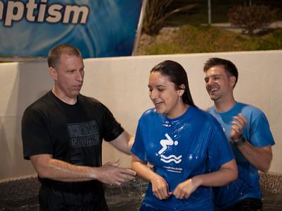 Baptism April 20, 2013 6:30pm service