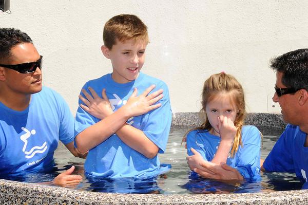 Baptism April 21, 2013 9:30am service