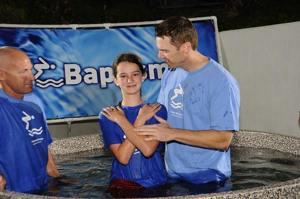 Baptism November 23, 2013 5pm service