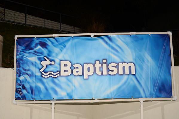 Baptism: November 7, 2015 5pm service
