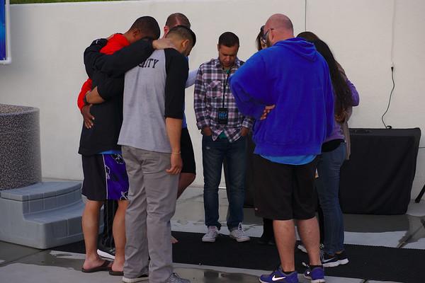 Water Baptism: Saturday, April 30, 2016