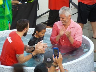 Water Baptism: Saturday June 25