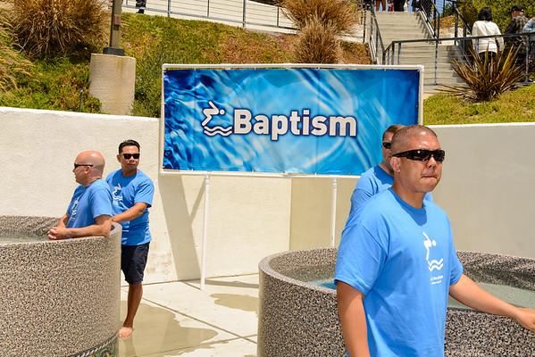 Water Baptism: Sunday, May 1, 2016 11am service