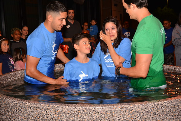 Water Baptisms: Wednesday May 4, 2016