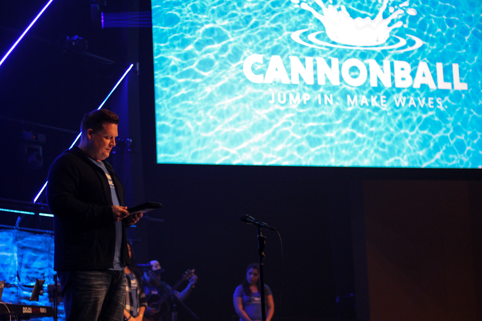 Eastlake Church Cannonball Commitment Night