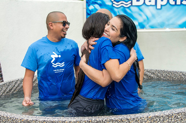 Baptism, Sunday, 12:45pm Service, Feb 5, 2017