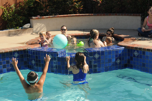 Activity Group - Monday PM Mother's Swim Group 7/12/10