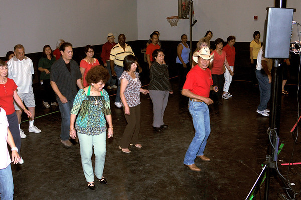 Activity Groups: In Line Dancing Group July 6, 2010