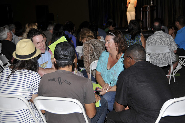Growth Group Hosts Dinner and Meeting: August 26, 2012