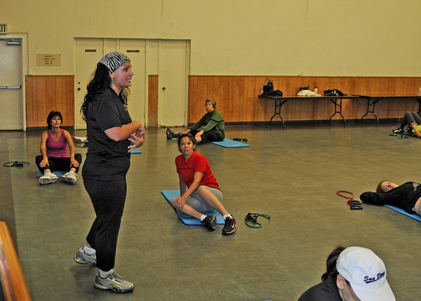 Zumba Exercise Group Dec 6, 2011