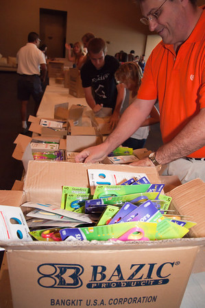 EastLake Serves: Backpacks Project Sept 18, 2010