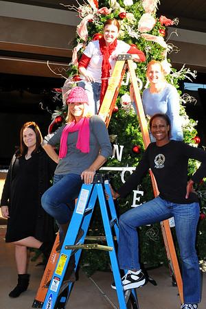 Eastlake Church Christmas Tree set up crew