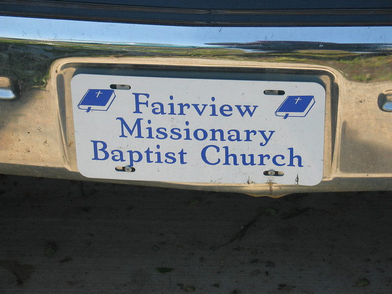 Title shot, from the church van