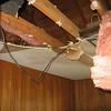 Ceiling in the nursery has fallen