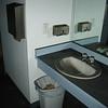 Men's restroom.  Floor should not be black.  Counter should be light blue.