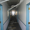 Main hallway outside the fellowship hall.