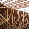 Framing transition at SE roof hip