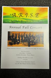 A.R.I.S.E. Fall Concert Nov 22, 2015