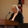 Sister Claudia Bronsting read John 18 : 1-8.