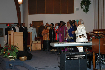 The Greater Pentecostal COGIC New Years Nightwatch Service.  Wichita, Ks 2007.