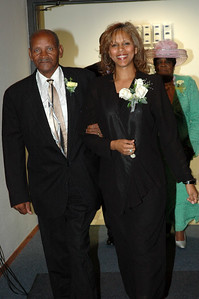 Escorting First Lady Anadina Hick is Bro James Love