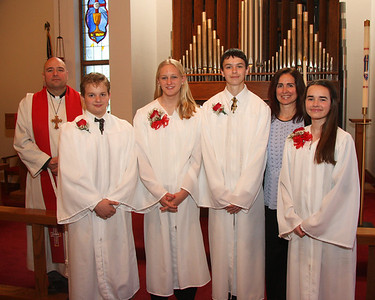Confirmation Celebration on October 27, 2013 at Trinity Lutheran Church in Vermilion