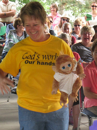 July 27, 2014, A special Church Service at Trinity Lutheran in Vermilion again.