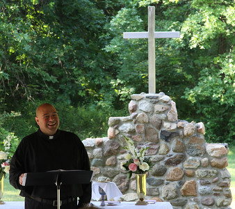 June 23, 2013. Trinity Lutheran in Vermilion. Congratulations Graduates and Dedication Fire Pit