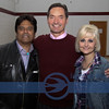 Erik Estrada, Pastor Cliff Morris and Brandy Allison