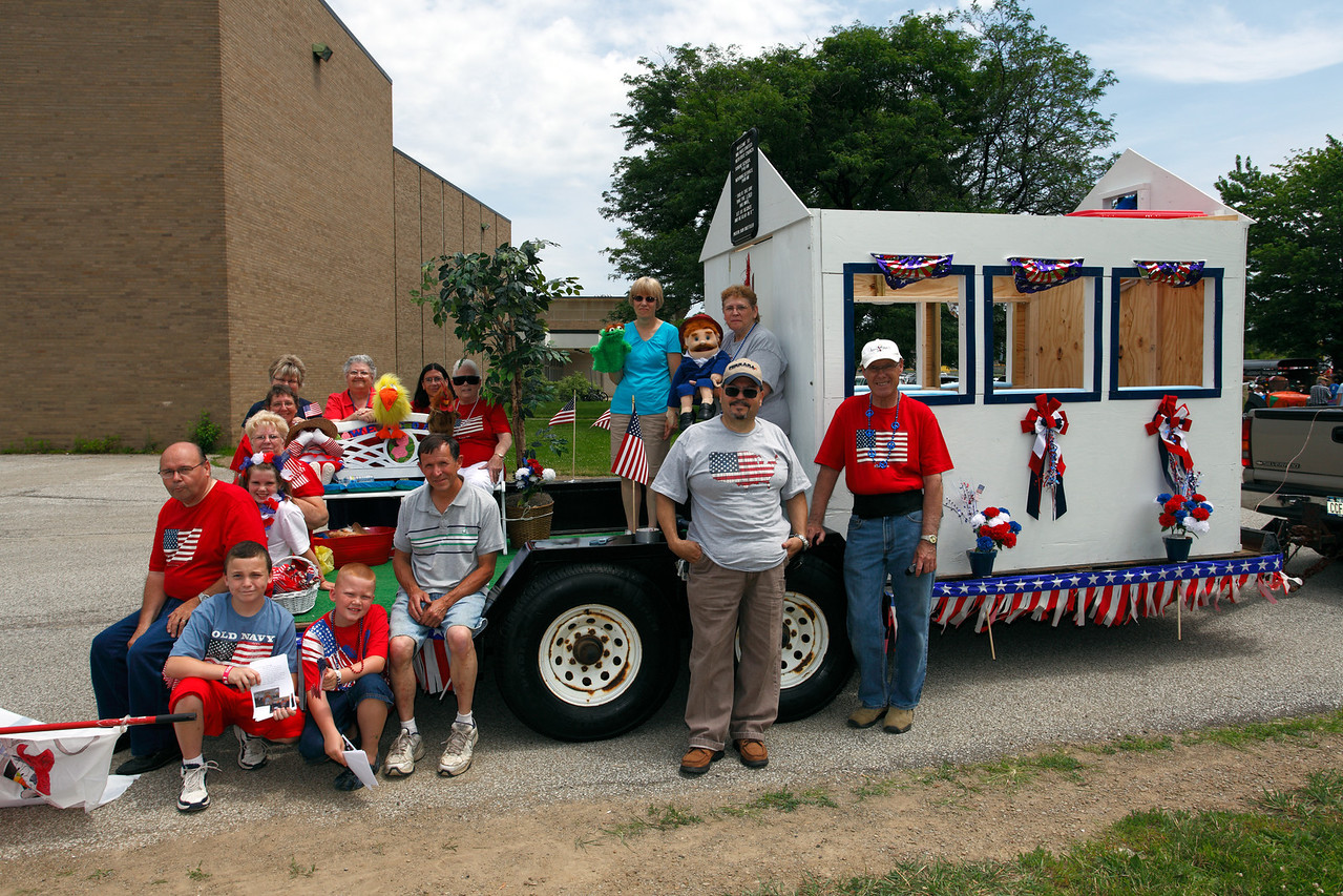 Immanuel North East at Lawrence Park 4th July Parade