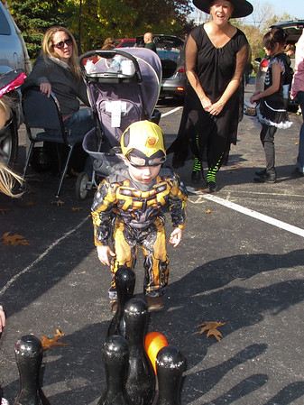 Oct.25, 2014, Kids' Trunk or Treat Halloween Party at Trinity Lutheran Church.