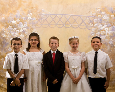 First Communion 2013
