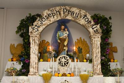 St. Josephs Alter 2012