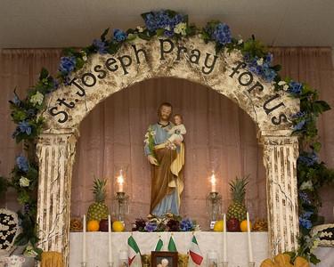 St. Josephs Alter 2013