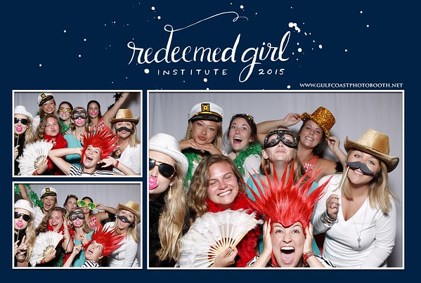 Redeemed Girl Institute Photo Booth Prints 2015