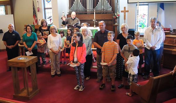 September 20, 2015, Puppets and Sunday School Teachers