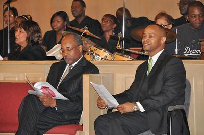Rev. Keith Cullors and Rev Eckels