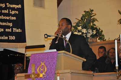 """THE FIRST WORD Luke 23:34 """"Father forgive them for they do not know what they are doing"""" Elder Herman Hicks - Greater Pentecostal C.O.G.I.C. delivers the message."""